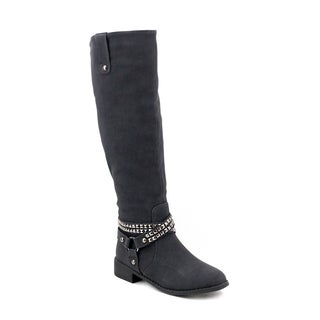 Olivia Miller Women's Essex Studded Riding Boots