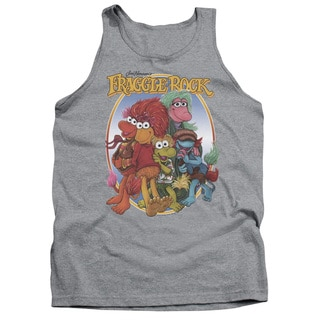 Fraggle Rock/Group Hug Adult Tank in Heather