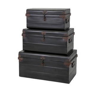 Panit Metal Trunks (Set of 3)