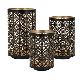 Helena Pierced Outdoor Lanterns (Set of 3)