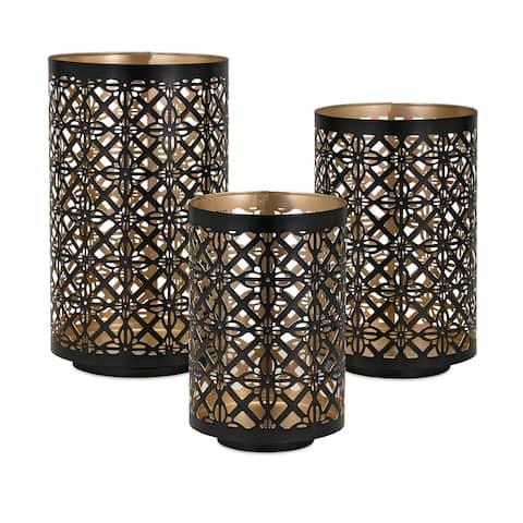 Helena Pierced Outdoor Lanterns (Set of 3)