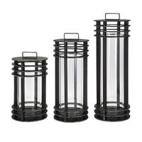 Electra Metal Lanterns (Set of 3)