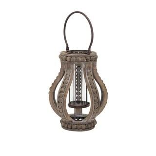 Akiko Small Wooden Lantern