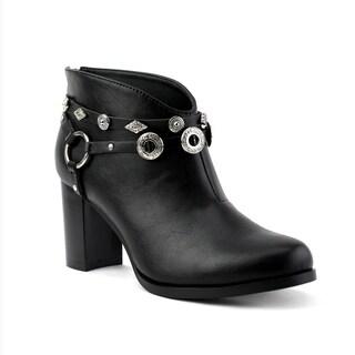 Olivia Miller Women's Whitlock Ankle Booties