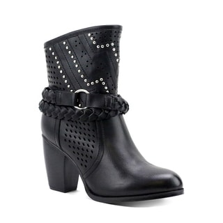Olivia Miller Women's Steinway Perforated Booties