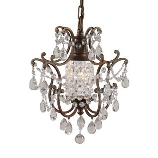 Feiss Maison De Ville 1 Light British Bronze Chandelier