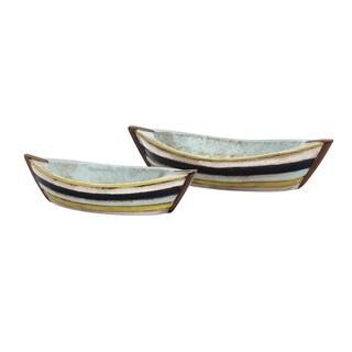 Baja Decorative Boat Dishes (Set of 2)