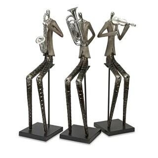 Sinatra Jazz Band Figures (Set of 3)