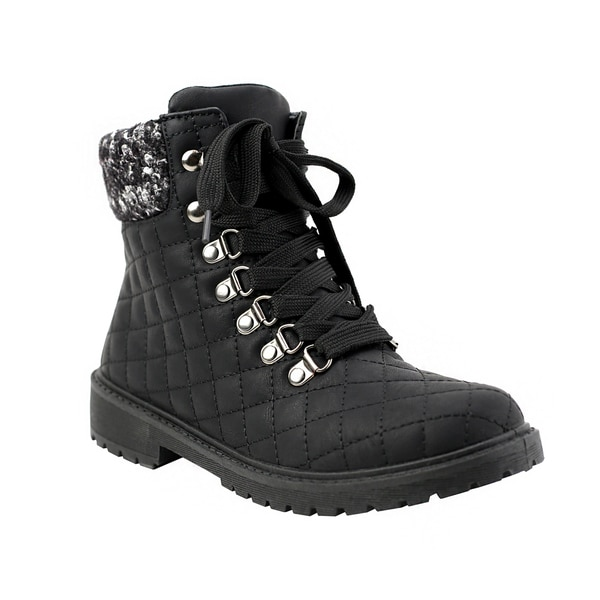 cheap authentic Olivia Miller Sutphin Women's ... Quilted Boots best cheap price O4Wkj