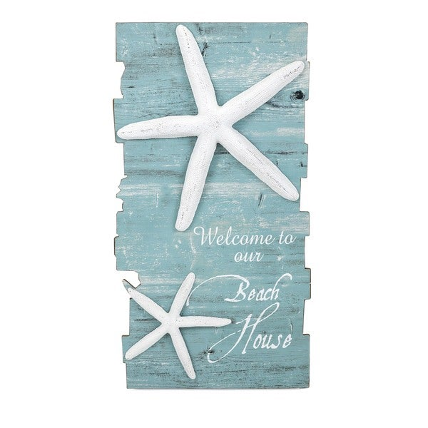 Shop Havenside Home Buckroe Beach House Starfish Wall Decor - On ...