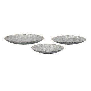 Ella Elaine Wall or Table Decorative Chargers (Set of 3)