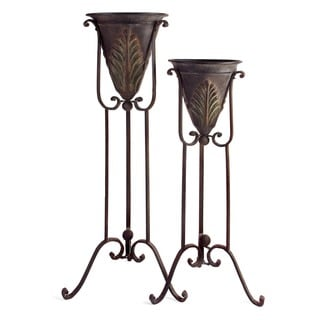 Acanthus Plant Stands (Set of 2)