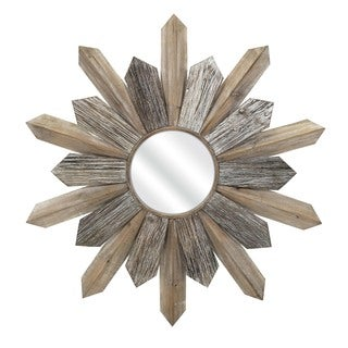 Tumelo Wood Mirror