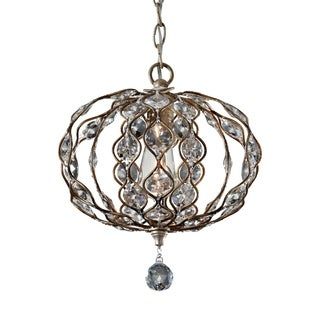 Feiss Leila 1 Light Burnished Silver Chandelier