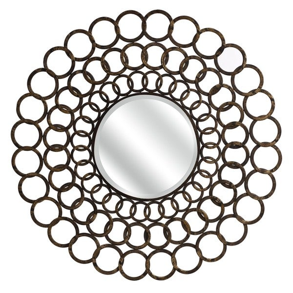 Ring Mirror - Brown/Silver - A/N
