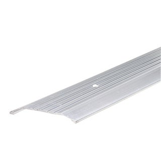 "M-D 08763 36"" Aluminum Commercial Fluted Top Threshold"