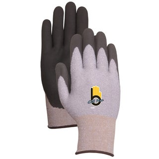 Bellingham Glove C4400L Gray & Black Thermal Knit Gloves With Rubber Palm