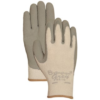 Bellingham Glove C4510L Grey Latex Palm Insulated Dip Gloves