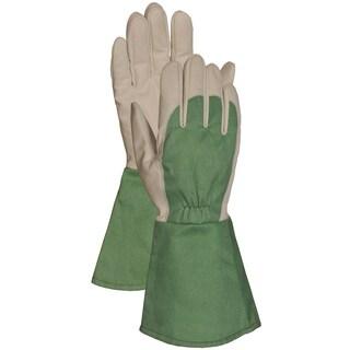 Bellingham Glove C7352L Green Thorn Resistant Gauntlet Gloves