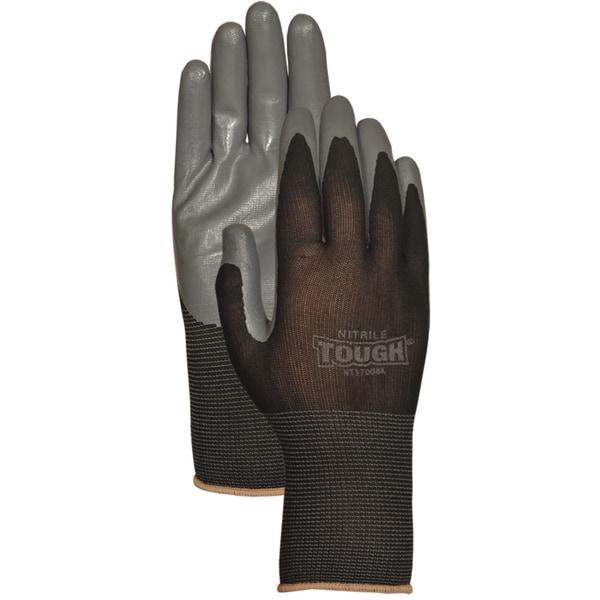 Bellingham Glove NT3700BKL Black Nitrile Tough Gloves