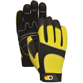 Bellingham Glove C7782HVL Men's Performance Hi Viz Synthetic Palm Gloves