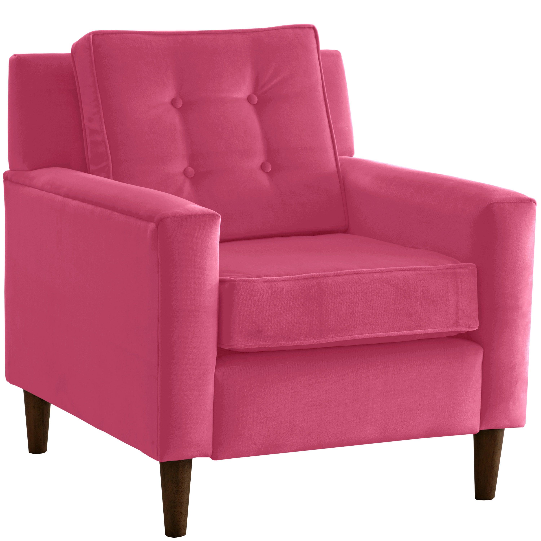 Skyline Furniture Premier Hot Pink Arm Chair N A