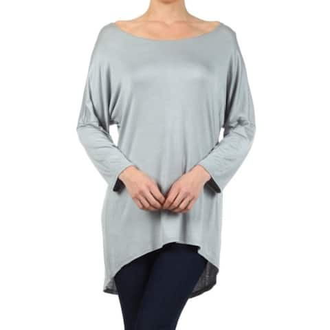 Plus Size Women's Solid Top