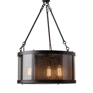 Feiss Bluffton 3 Light Oil Rubbed Bronze Chandelier