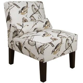 Skyline Furniture Birdwatcher Charcoal Armless Chair