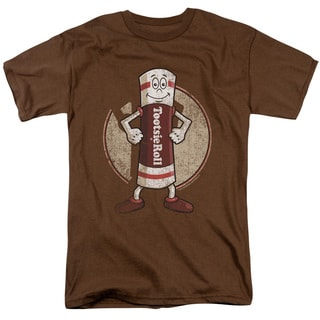 Tootsie Roll/Tootsie Man Short Sleeve Adult T-Shirt 18/1 in Coffee