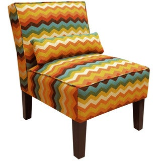 Skyline Furniture Panama Wave Adoble Armless Chair