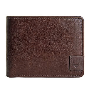 Hidesign Vespucci Brown Buffalo Leather Men's Wallet
