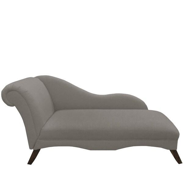 Skyline Furniture Grey Chaise Lounge