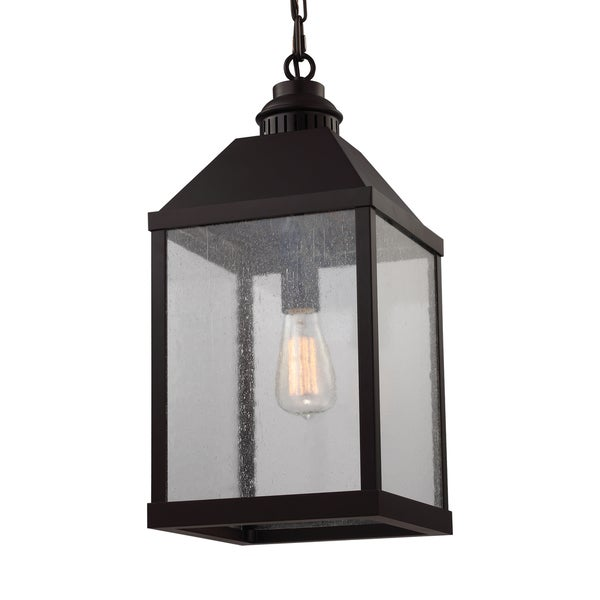 Feiss Lumiere' 1 Light Oil Rubbed Bronze Chandelier