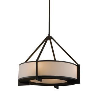 Feiss Stelle 4 Light Oil Rubbed Bronze Chandelier