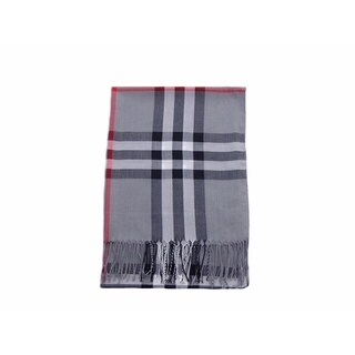 Polyester Plaid Scarf