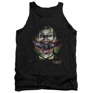 Batman Aa/Crazy Lips Adult Tank in Black