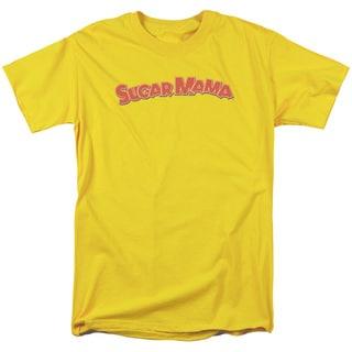Tootsie Rollong Sleeveugar Mama Short Sleeve Adult T-Shirt 18/1 in Yellow