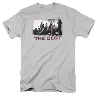 Ncis/The Best Short Sleeve Adult T-Shirt 18/1 in Silver