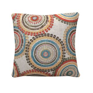 Coaster Polyester 20-inch Medallion Print Throw Pillow