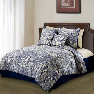 Link to Valentina Flowers and Doodles Microfiber Duvet Cover Set Similar Items in Duvet Covers & Sets