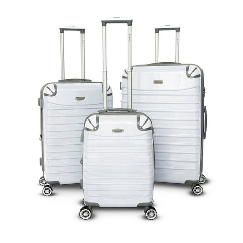 Gabbiano Vintage Collection 3-piece Champagne Expandable Hardside Spinner Set