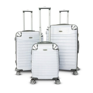 Gabbiano Vintage Collection 3-piece Expandable Hardside Spinner Set