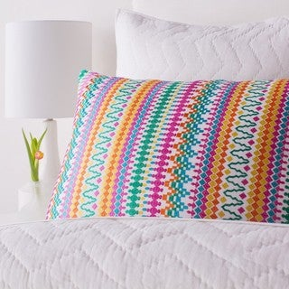 Amita Cotton/Linen Decorative Sham