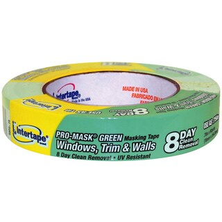 "Intertape Polymer Group 5802-75 3/4"" Premium Grade Pro-Mask Green Painters' Tape"