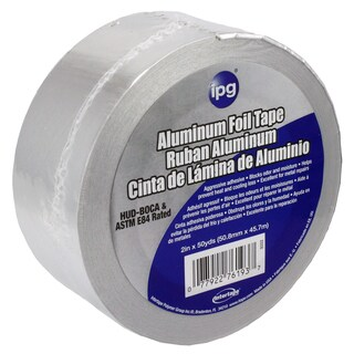 "Intertape Polymer Group 9202-B 2"" X 50 Yards Aluminum Foil Tape"