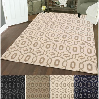 Admire Home Living Bronte Olefin Orb Area Rug (5'3 x 7'3)
