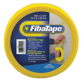 "Saint Gobain FDW6590-U 1-7/8"" X 300' Yellow FibaTape Drywall Joint Tape"