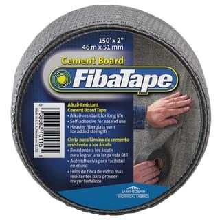 "Saint Gobain FDW8436-U 2"" X 150' FibaTape Alkali Resistant Cement Board Tape https://ak1.ostkcdn.com/images/products/12542123/P19344952.jpg?impolicy=medium"