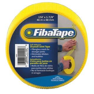 "Saint Gobain FDW8659-U 1-7/8"" X 15' Yellow FibaTape Drywall Joint Tape"